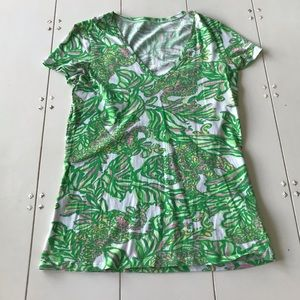 Lilly Pulitzer Michelle Print Top